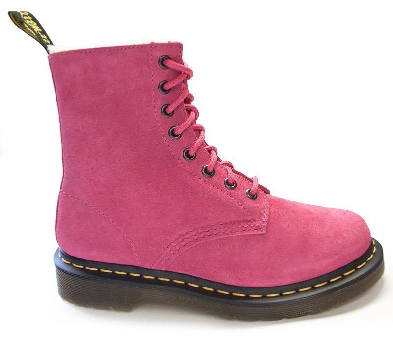 Doc marten pink boots