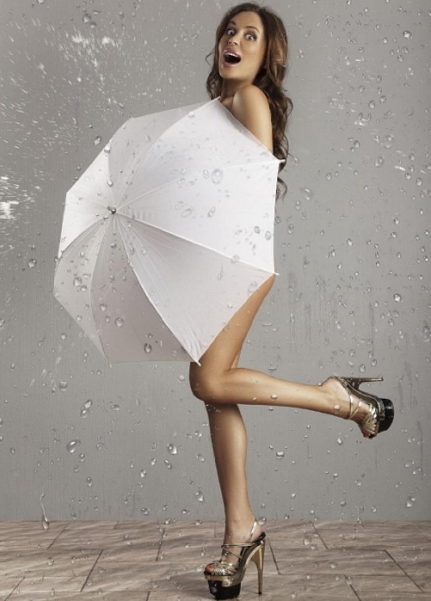 Михалкова под дождем