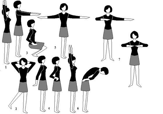 Комплекс производственной гимнастики для офисных работников