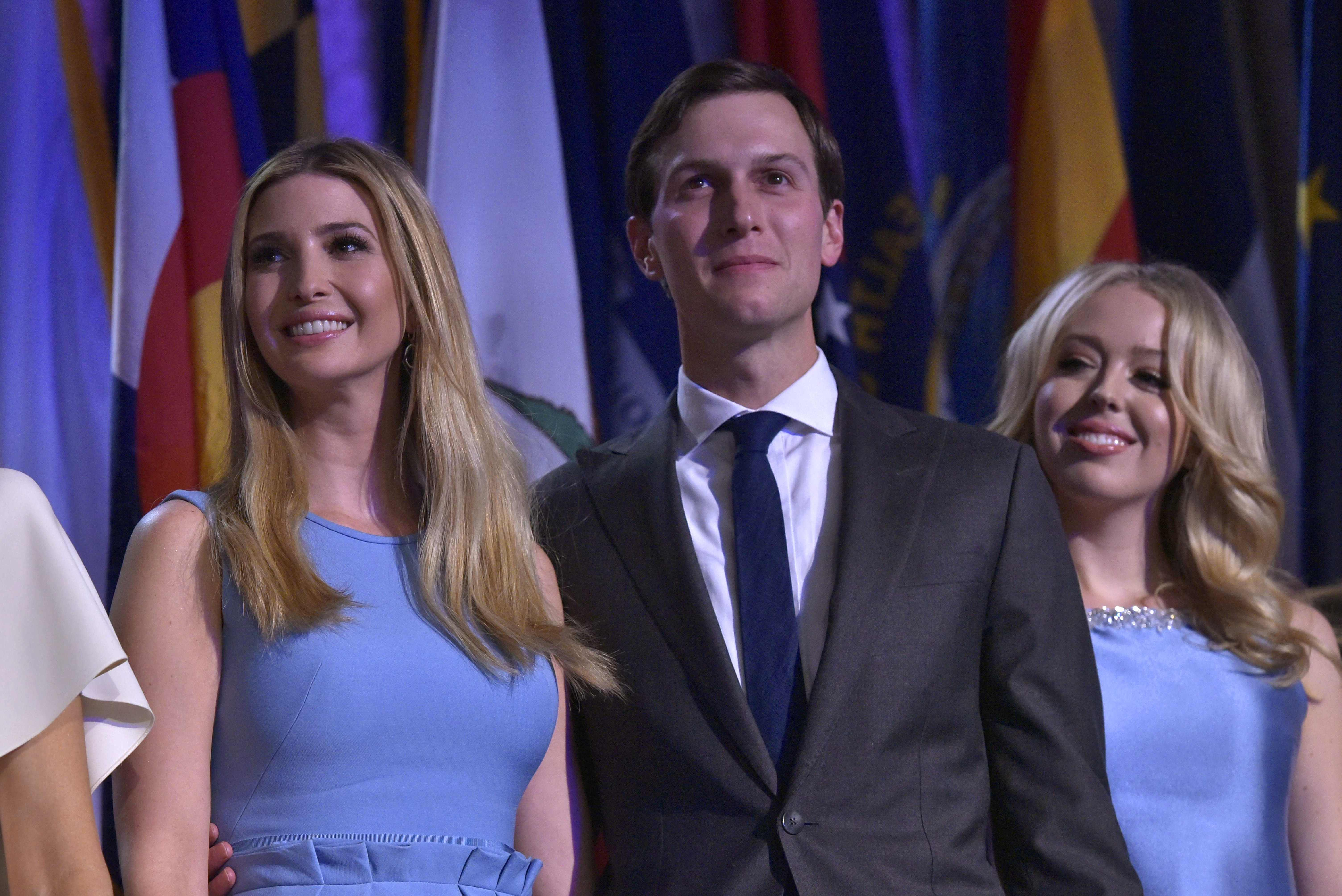 She is married to multi-millionaire property tycoon Jared Kushner