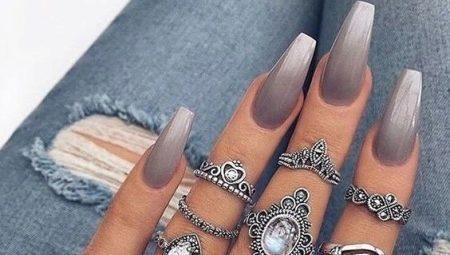 Ногти дизайн растяжка