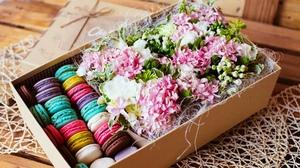 Цветы в коробке фото своими