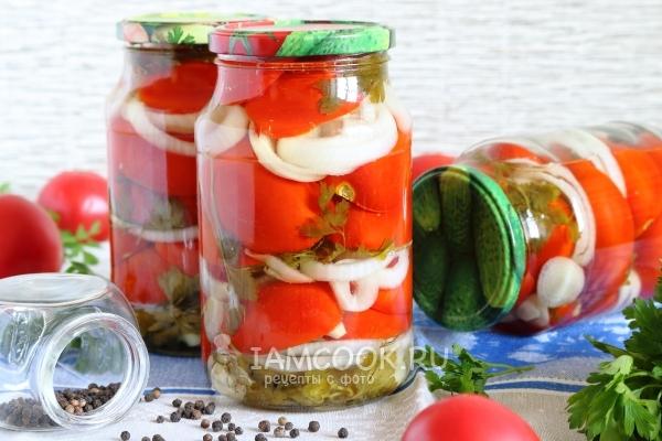 Рецепт засолки помидоров «Пальчики оближешь» на зиму