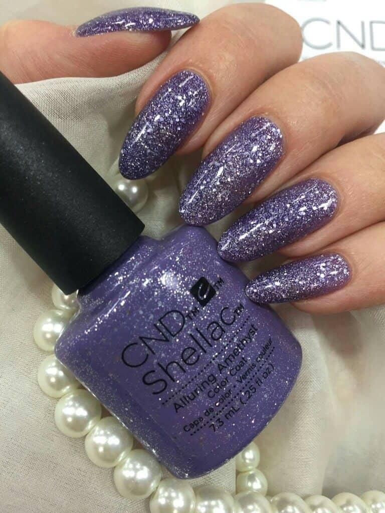 No Holds Barred Purple Glitter