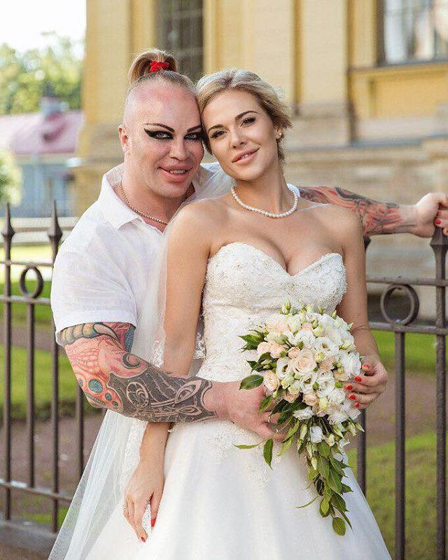 Шпак александр с женой