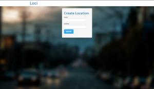 Python Crud App Homepage