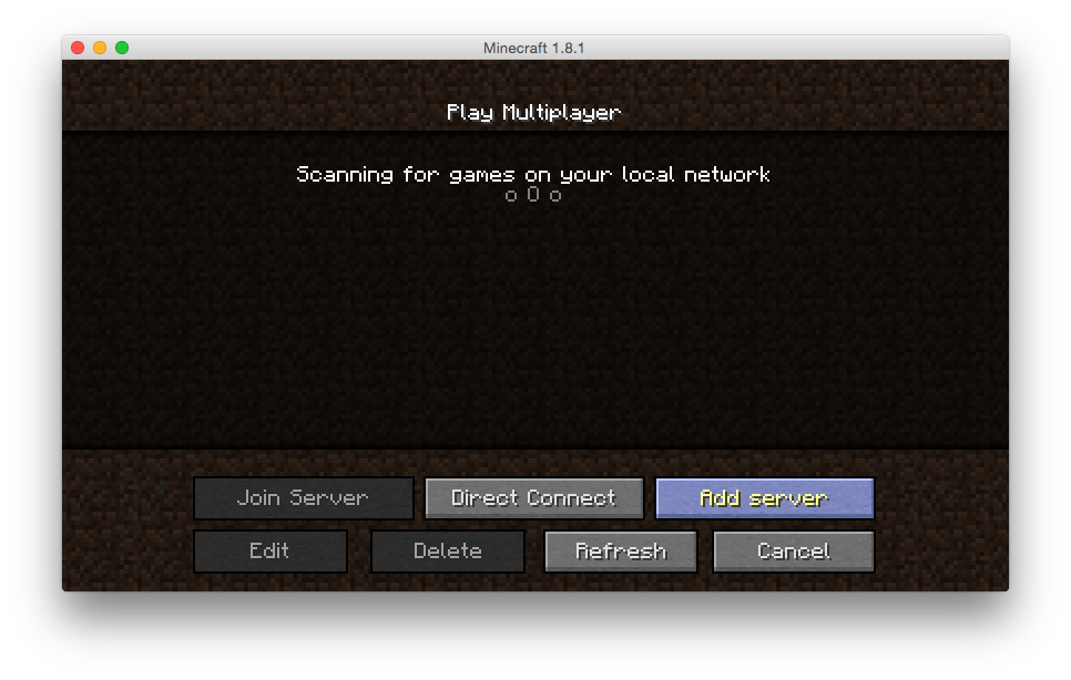 how to run command on all servers minecraft