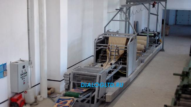 Оборудование для производства крафт мешков