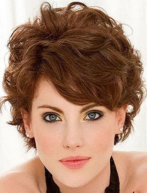 Короткие стрижки на волнистые волосы