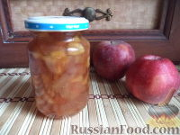 Фото к рецепту: Варенье яблочное