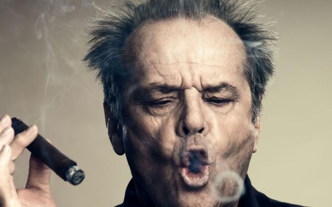 Pictures of smoking celebrities