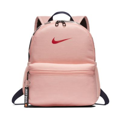 Pink nike brasilia backpack