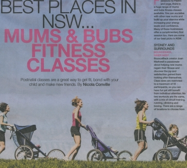 Active Mum Fitness NSW