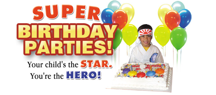 Martial Arts Birthday Parties Raleigh North Carolina - Childrens birthday parties raleigh nc