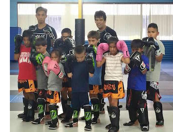 Kids Muay Thai in Pleasanton