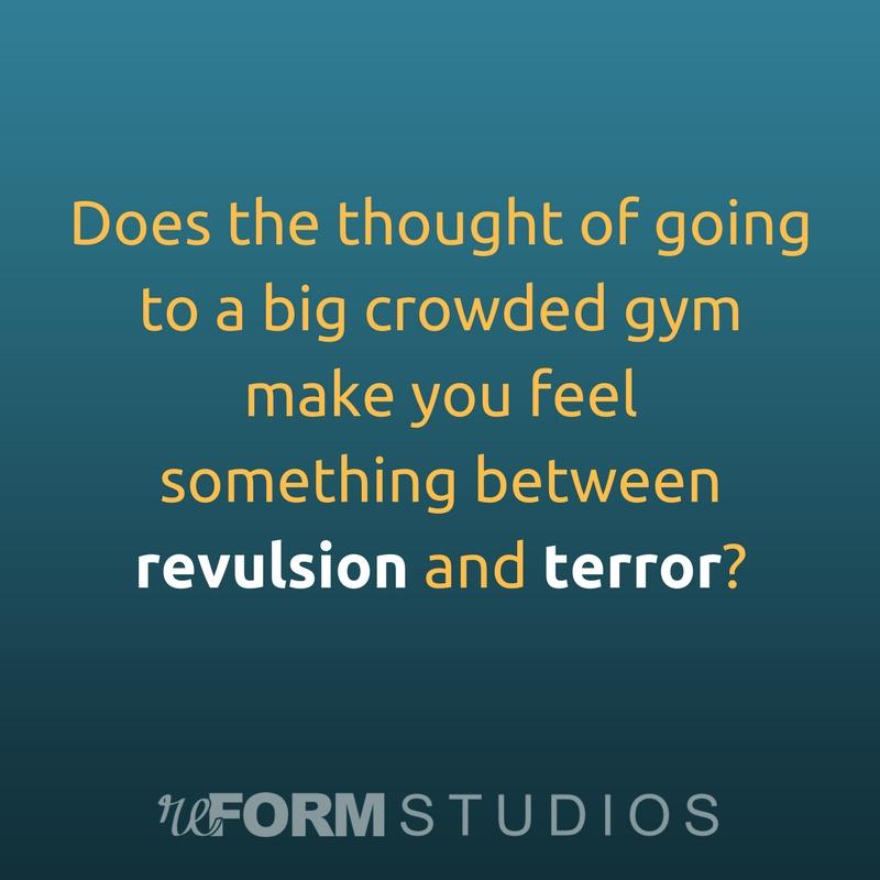 big gym revulsion and terror