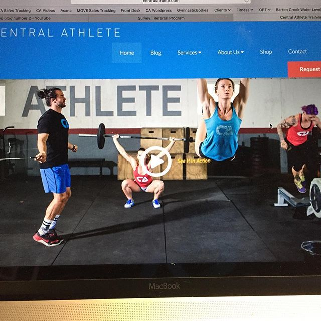 Boom, website is on point! #centralathlete #onsitetraining #functionalmovement
