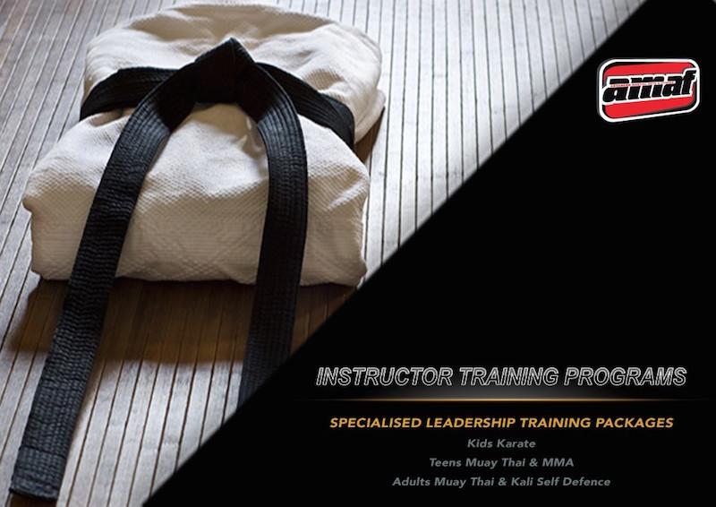 AMAF, Advanced Martial Arts & Fitness, Kali Sikaran, AMAF Thai Boxing Gym, Mike Waite, Guro Mike Waite, Shihan Mike Waite, Karate Kids Perth, Instructor Training Program