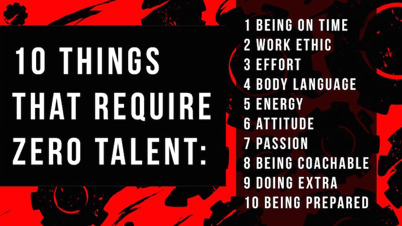 10 Thinks That Require Zero Talent