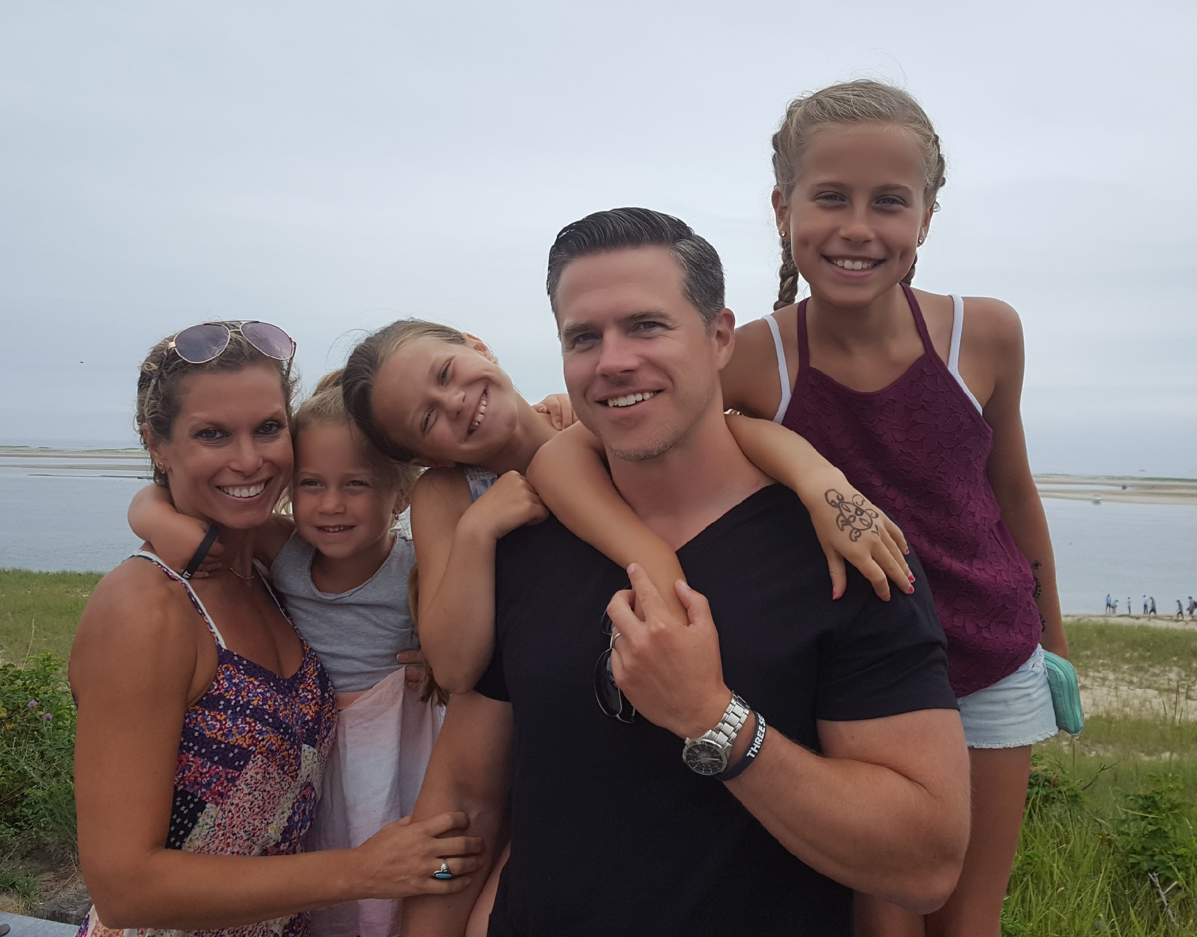 family pic from the Cape