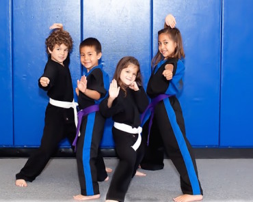 Orange Kids Martial Arts