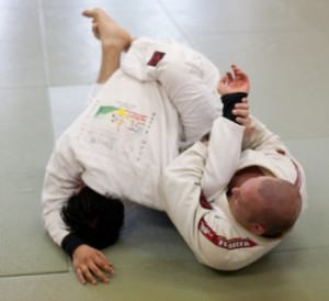 students in brazilian jiu jitsu at Clinch MAA