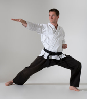 students in adult martial arts at Challenge Martial Arts & Fitness Centre
