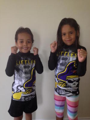 students in kids karate at Fearless Fighting