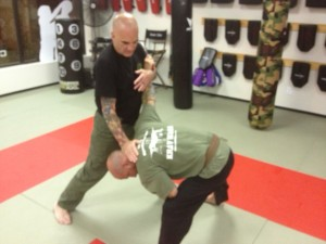 students in krav maga self defense at Smithtown Krav Maga