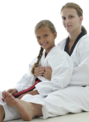 students in kids karate at Marietta Martial Arts