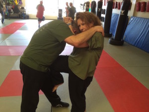 students in krav maga self defense at Smithtown Krav Maga