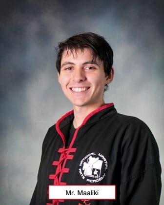 Faris Maaliki in Aurora - National Martial Arts Academy