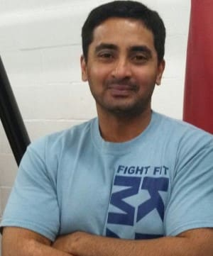 Amit Maranganti in Cleveland - Fight Fit Ohio
