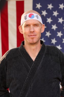 Peter Reitz in Chico - Azad's Martial Arts Family Center