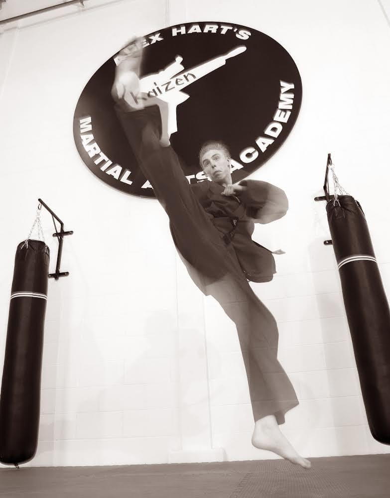 Luke Henderson in Waltham Abbey - Alex Hart's Kaizen Martial Arts