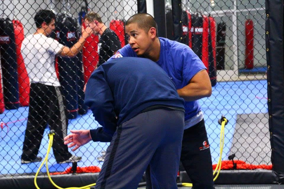 Chris Magno in Charlotte - FTF® Fitness and Self-Defense