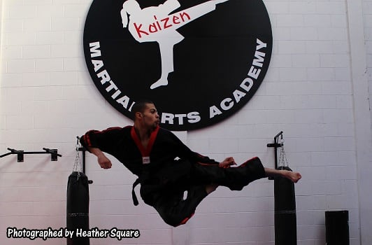 Perry Mayers in Waltham Abbey - Alex Hart's Kaizen Martial Arts