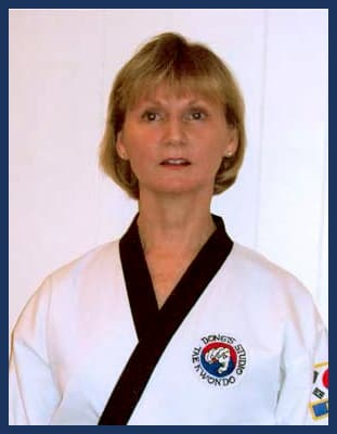 Master Bonnie Snoddy in Richmond - Dong's Karate