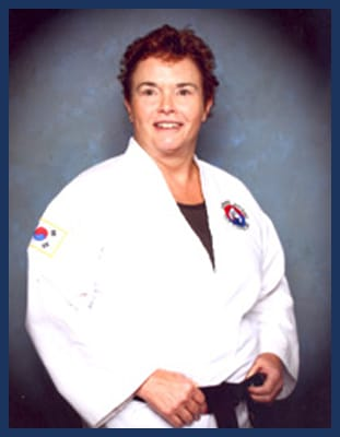 Master Linda Odum in Richmond - Dong's Karate