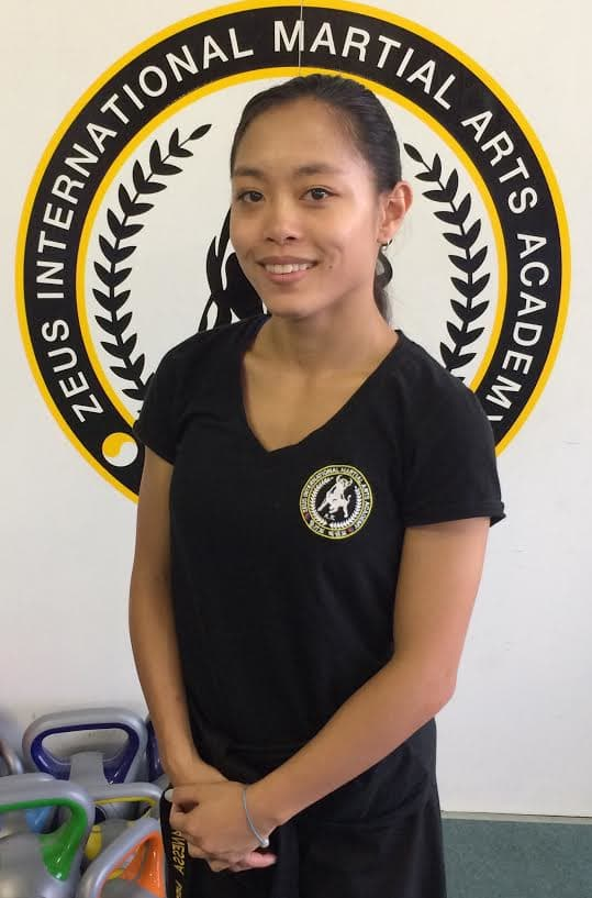 Janessa Pe in Marrickville - Zeus International Martial Arts Academy