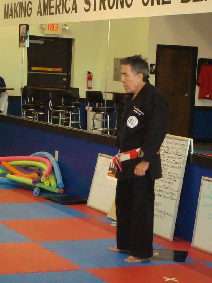Grandmaster Paul P. Talamantez in San Antonio - Talamantez Karate