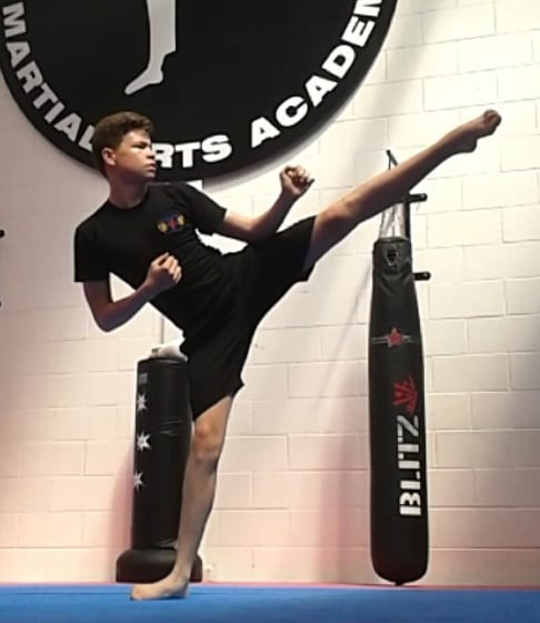 Jack Bright in Waltham Abbey - Alex Hart's Kaizen Martial Arts