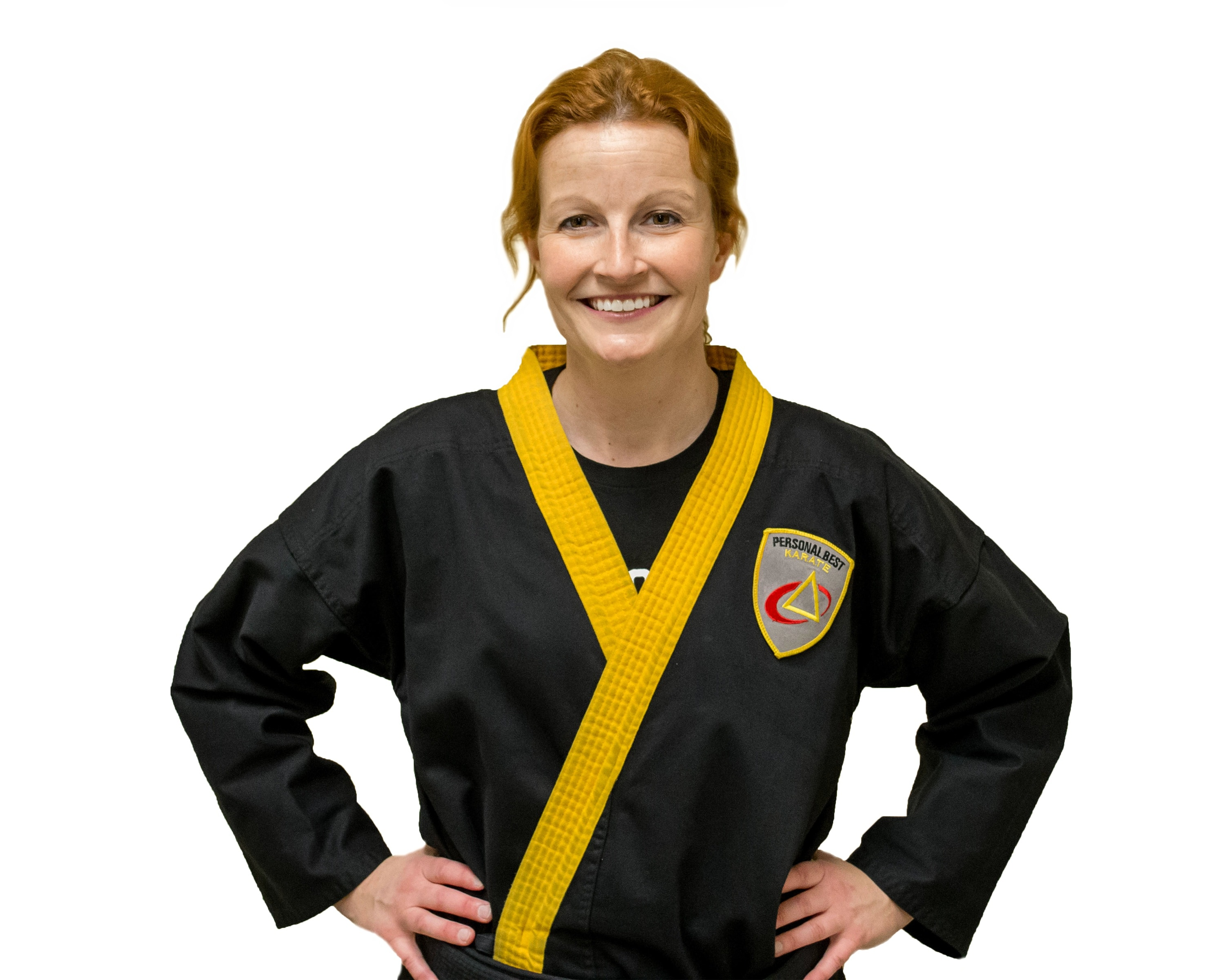 Stacey Caron in Norton - Personal Best Karate