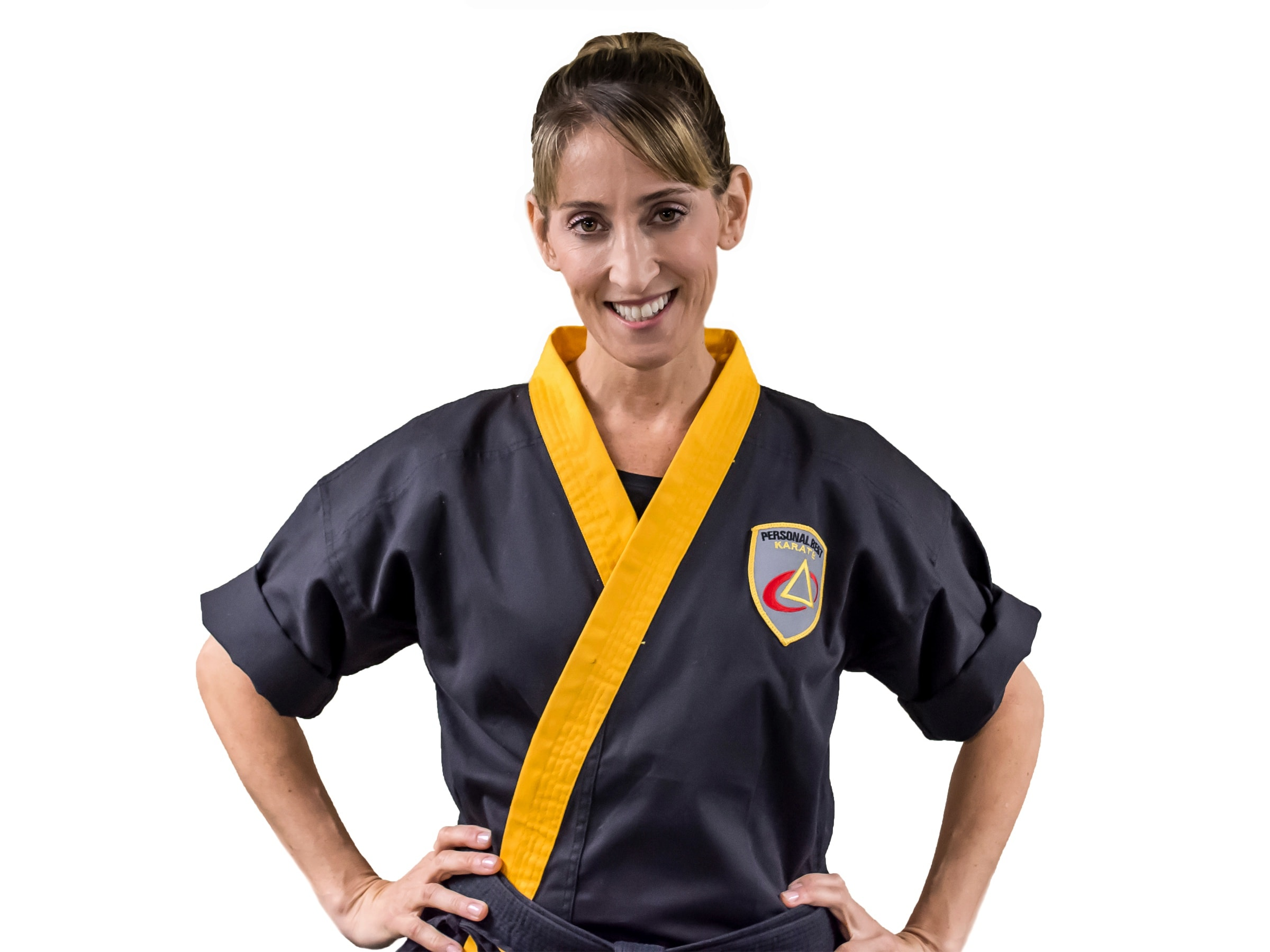 Kim Guccione in Norton - Personal Best Karate