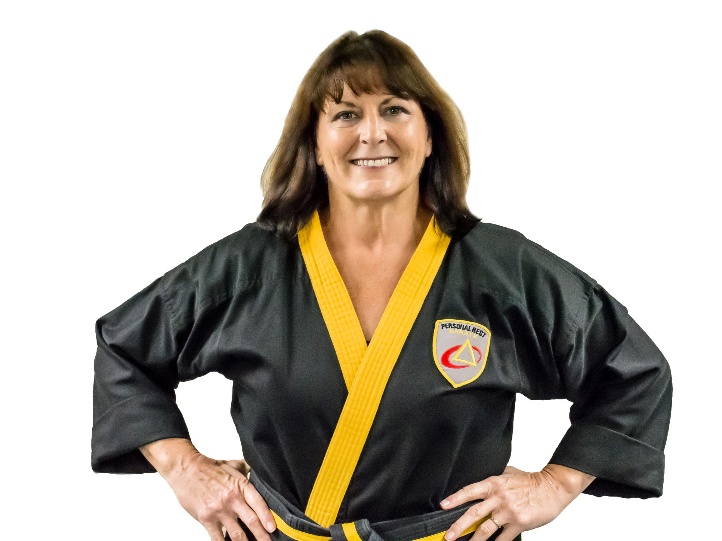 Eileen Rappold in Norton - Personal Best Karate