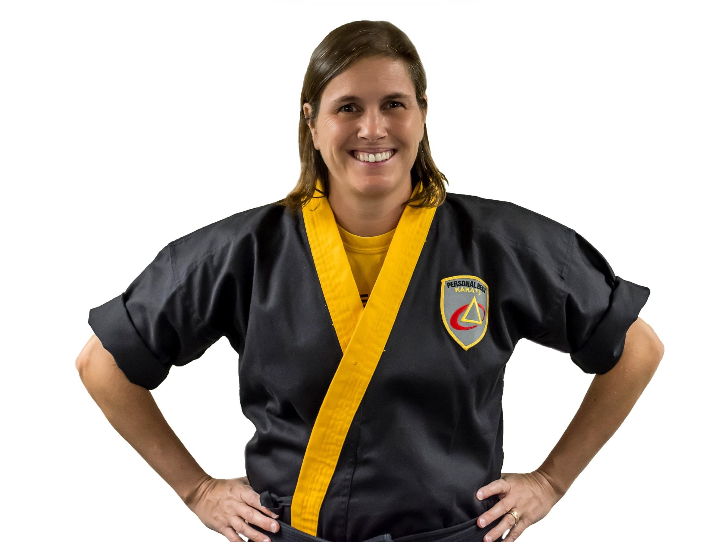 Barbara Mosca in Norton - Personal Best Karate