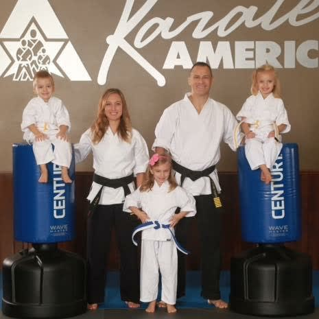 Jeff and Amanda Denu in Appleton - Karate America - Appleton