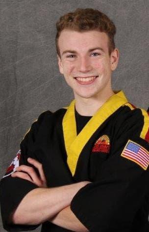 Sensei Matthew Barnell in Cicero - Karate John's Martial Arts