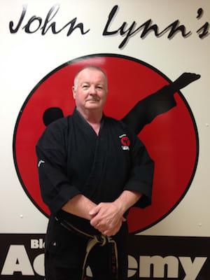 Master John Lynn 8th Dan in Rhyl - John Lynns BBA