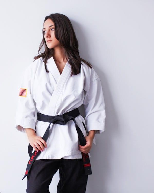 Angelina Harrison in Shawnee - American Sport Karate Centers